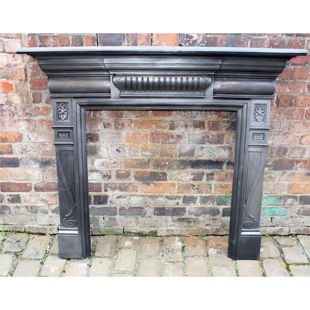 Cast Iron Reclaimed Victorian Fire Surround Archive