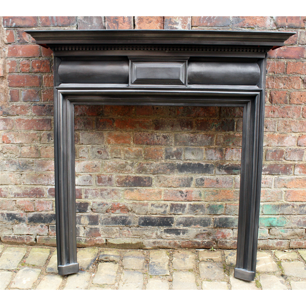 Victorian Coalbrookdale Reclaimed Cast Iron Fire Surround Antique Cast Iron Fire Surrounds