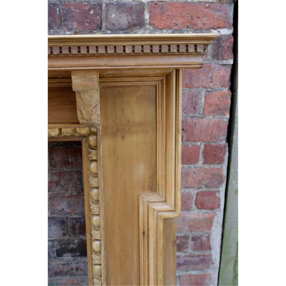 Late Victorian Fire Surround in Wood
