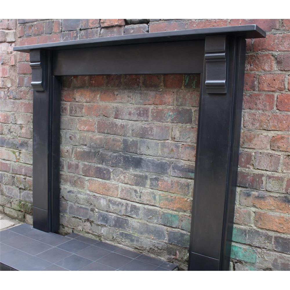 Edwardian Fire Surround In Slate Stone Slate Antique Fire Surrounds