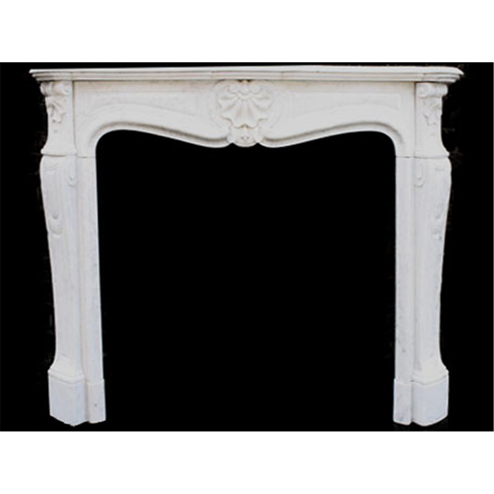 Original Louis 15th XV Marble Fire Surround, 