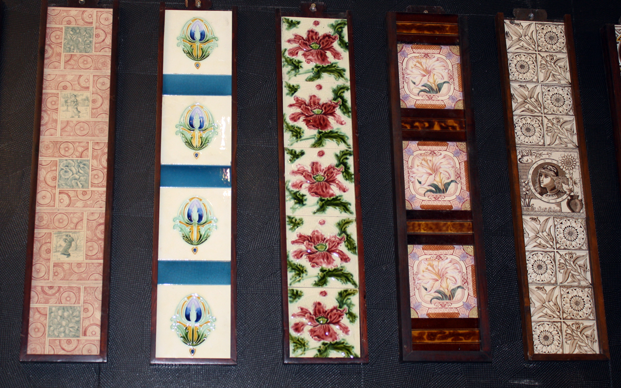 Antique Fireplace Tile sets