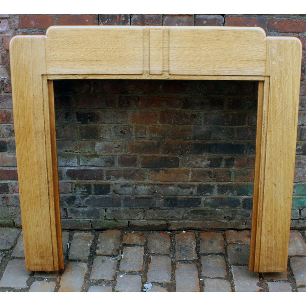 1930 u0027s fire surround in oak art deco 1930s oak fire surround archive