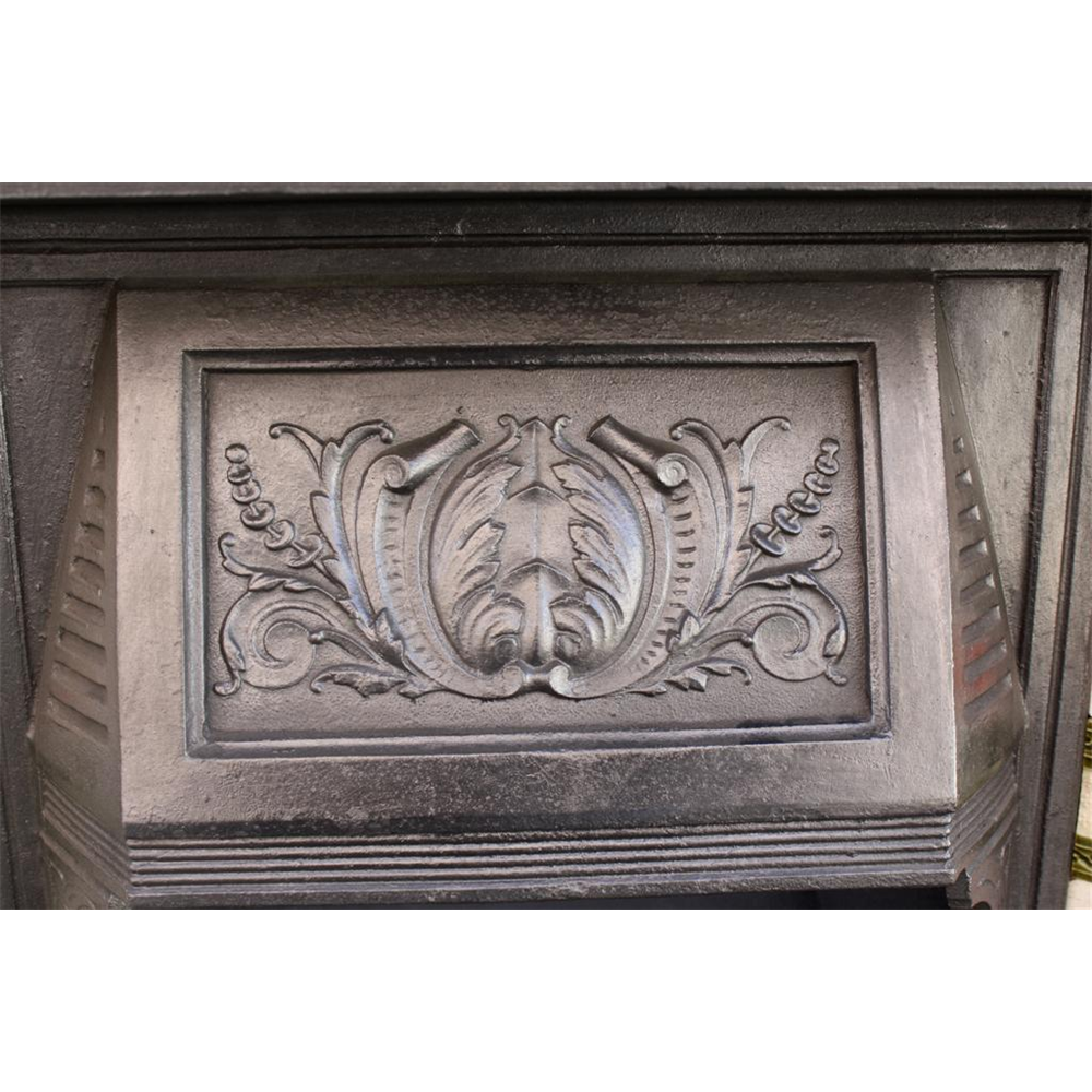 Victorian Combination Grate in Cast Iron