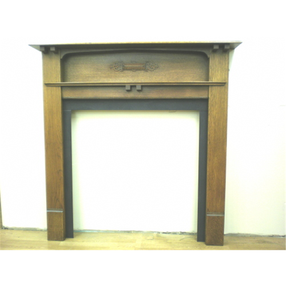 1920'S Fire Surround In Oak