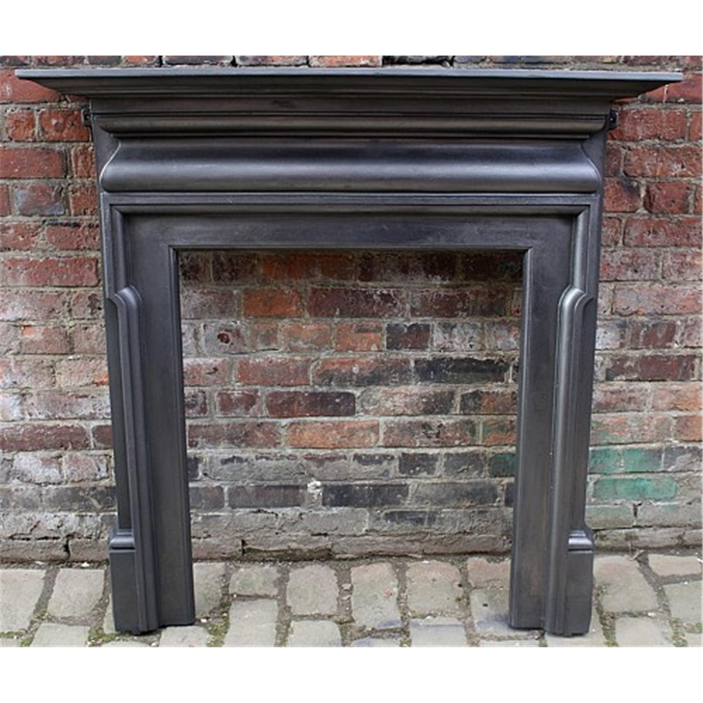 Edwardian Fire Surround In Cast Iron