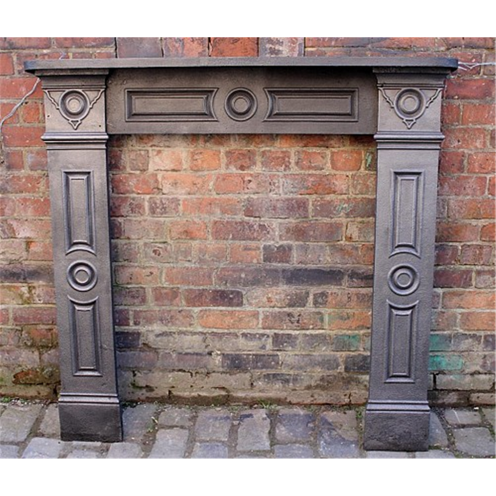 Victorian Fire Surround In Cast Iron Reserved Reserved