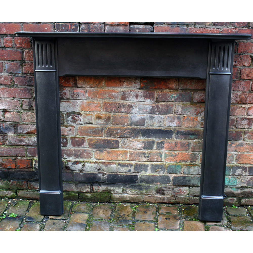Reclaimed Edwardian Cast Iron Fire Surround