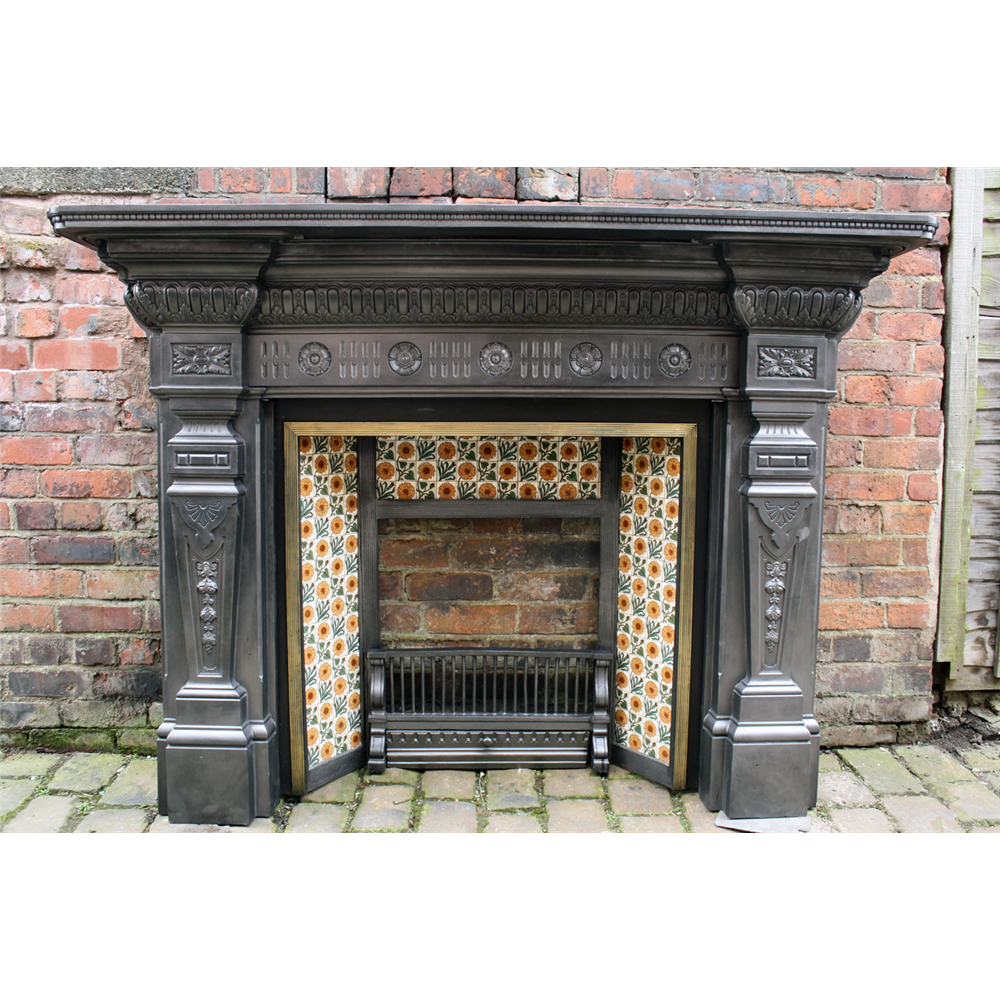 Superb Large Victorian Fire Surround The Victoria