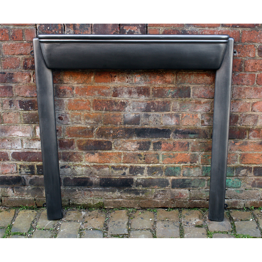 1920'S Original Cast Iron Art Deco Fire Surround