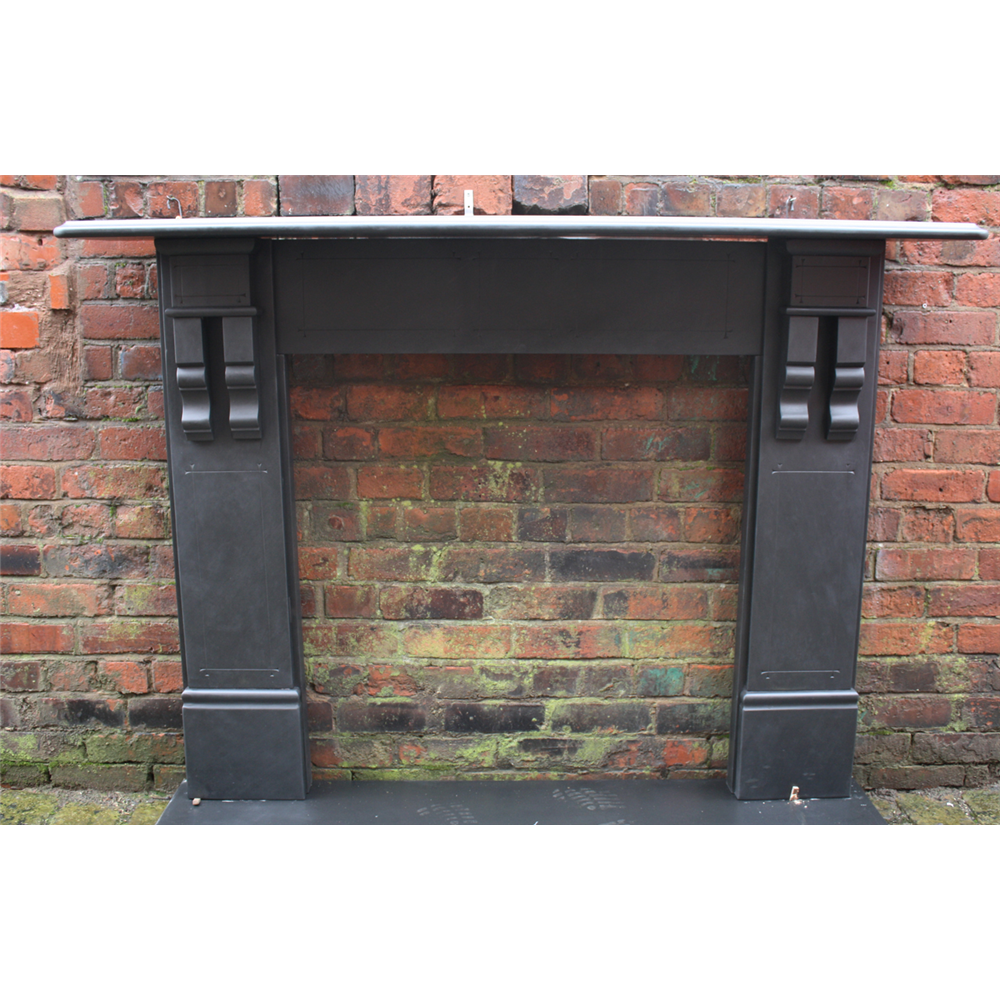 Antique Reclaimed Slate Fire Surround
