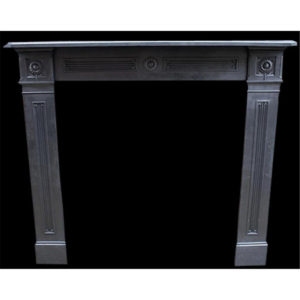 Antique Late Victorian Original Reclaimed Range Fire Surround