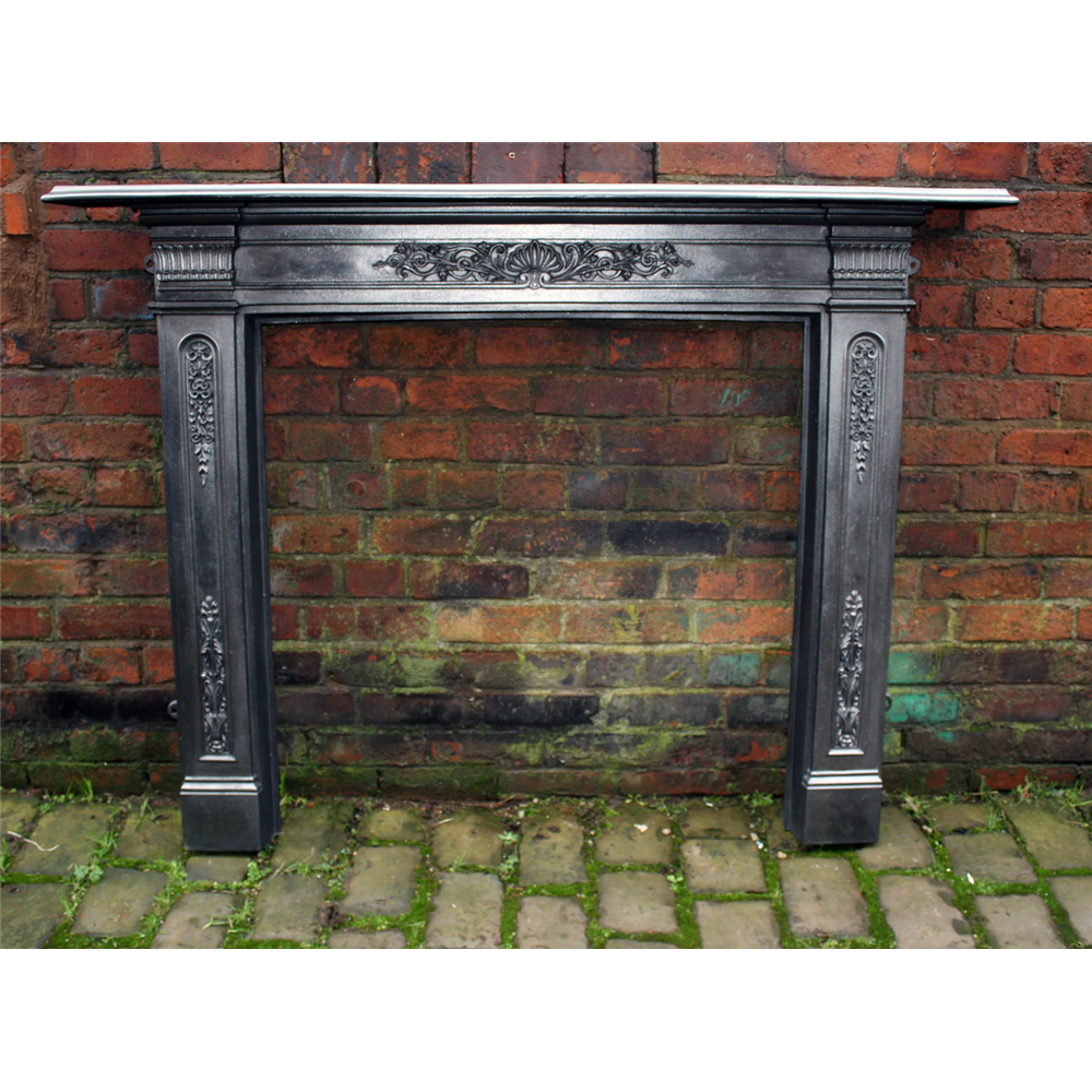 Victorian Cast Iron Fire Surround