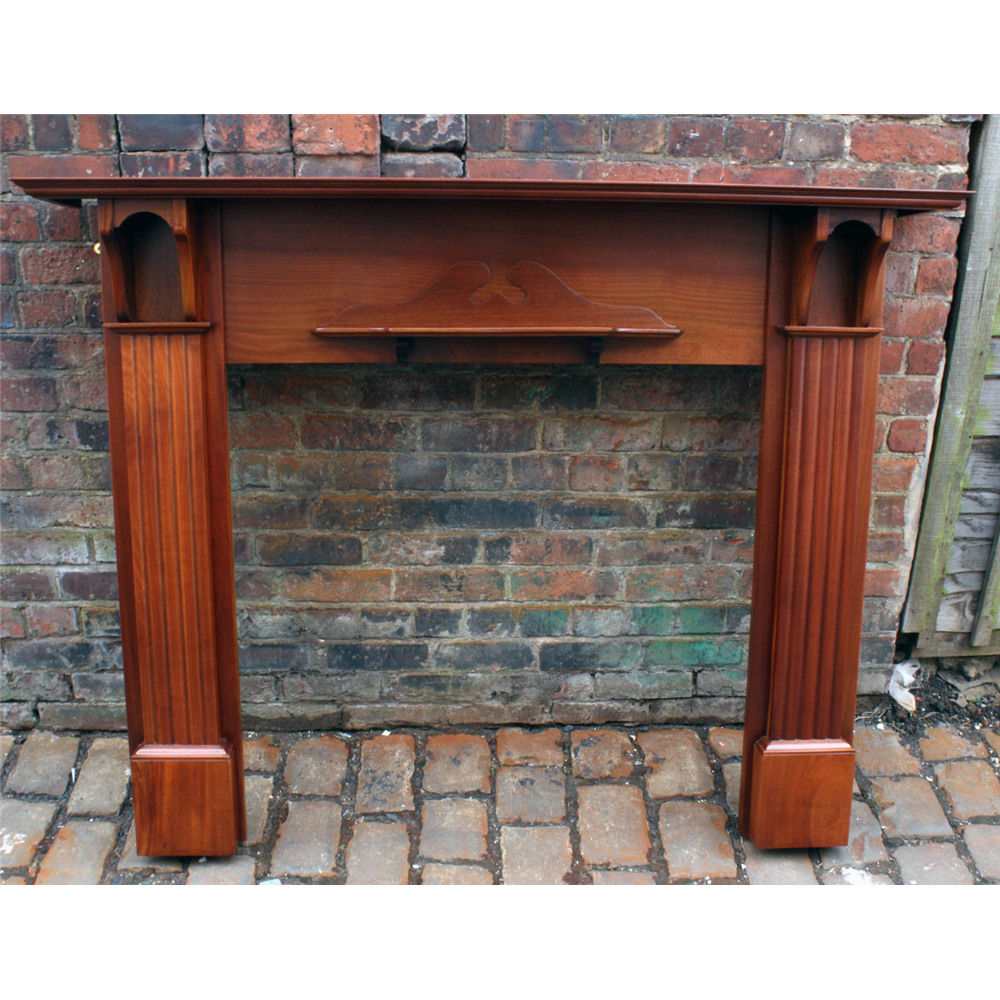 Edwardian Restored Mahoghany Fire Surround