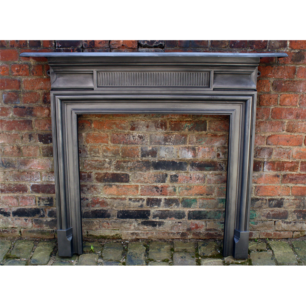 Old Victorian Cast Iron Fire Surround