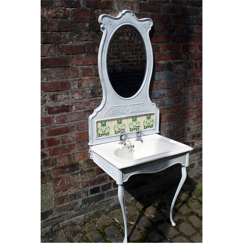 Art Nouveau Wash Stand And Basin Art Nouveau Wash Stand And Basin