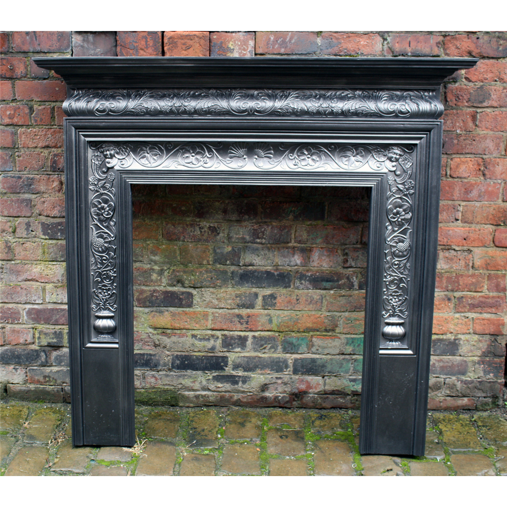 Coalbrookdale Cast Iron Fire Surround Coalbrookdale