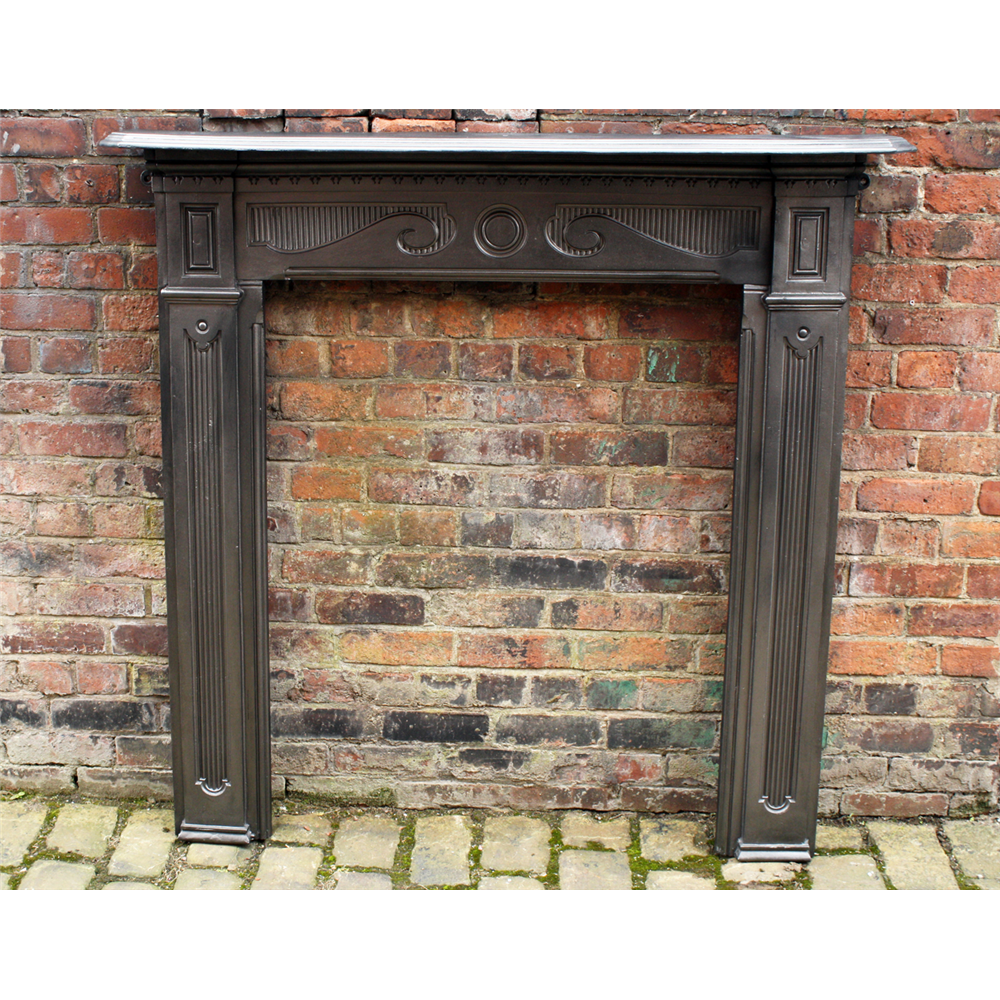 Tall Victorian Cast Iron Range