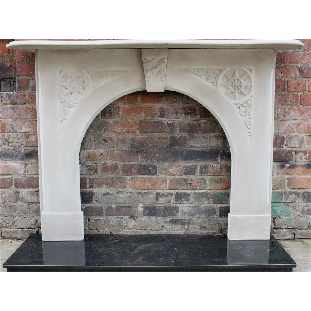 Victorian Fire Surround In Stone