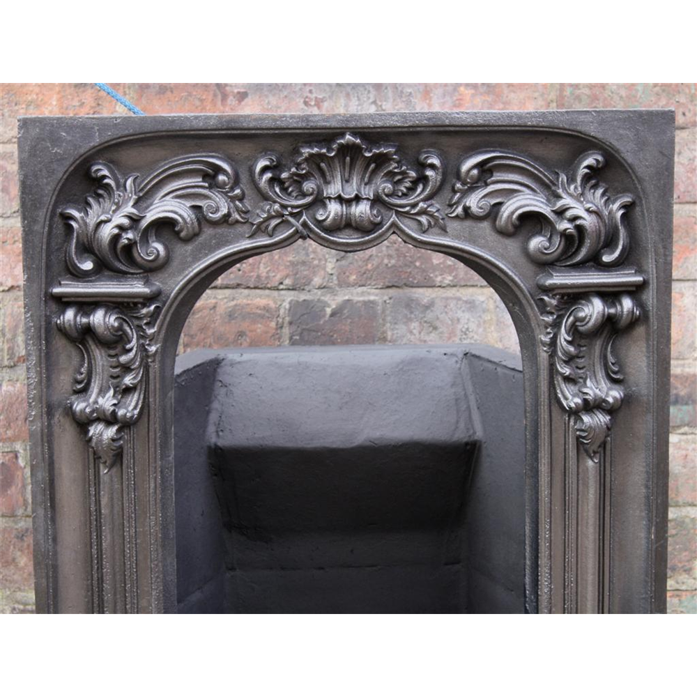 Late Georgian Fascia In Cast Iron By The Carron Foundry
