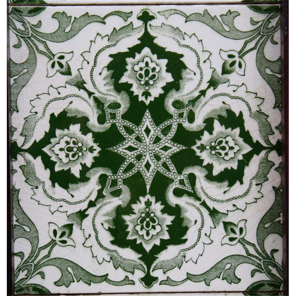 Victorian Fireplace Tiles In Ceramic