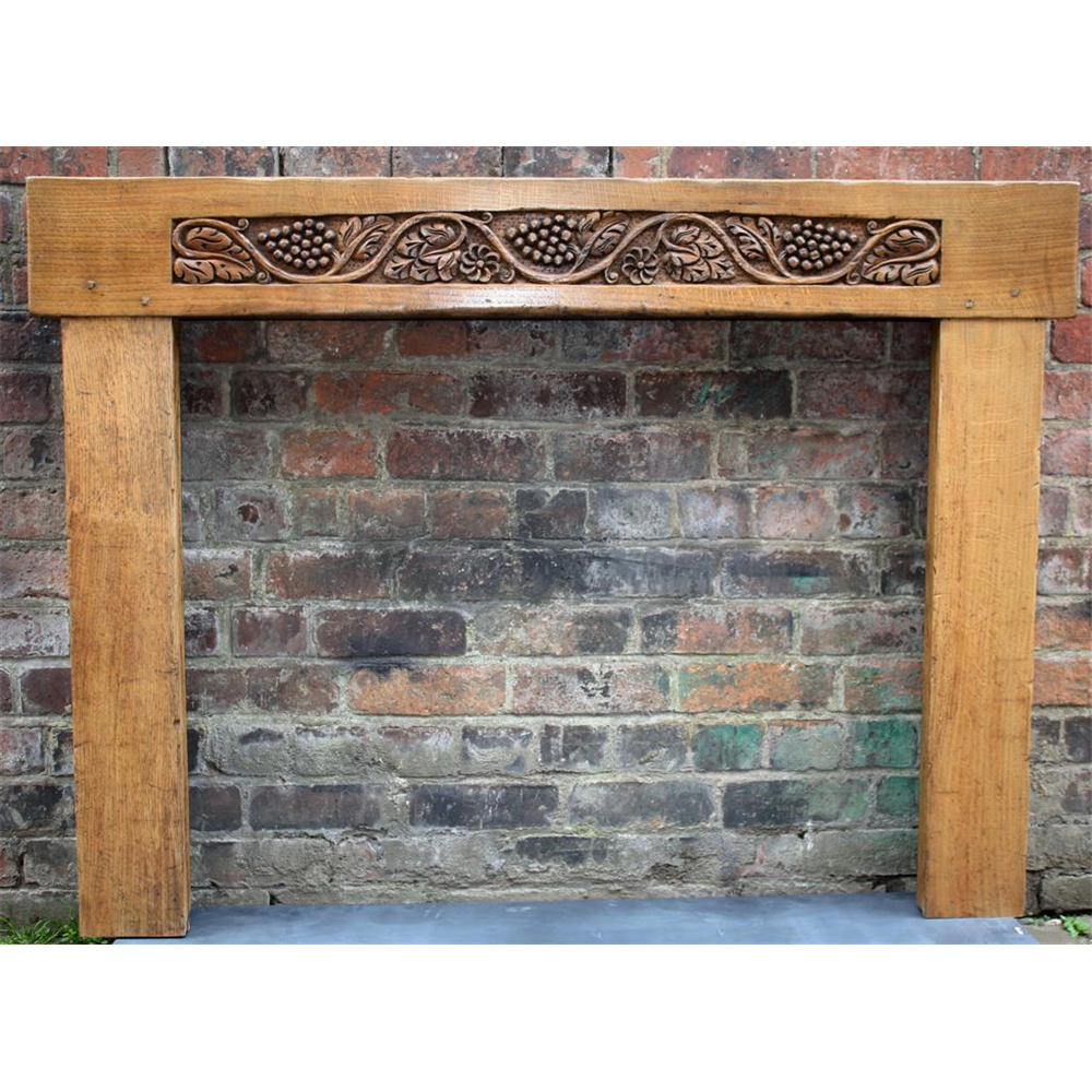 Victorian Fire Surround In Oak