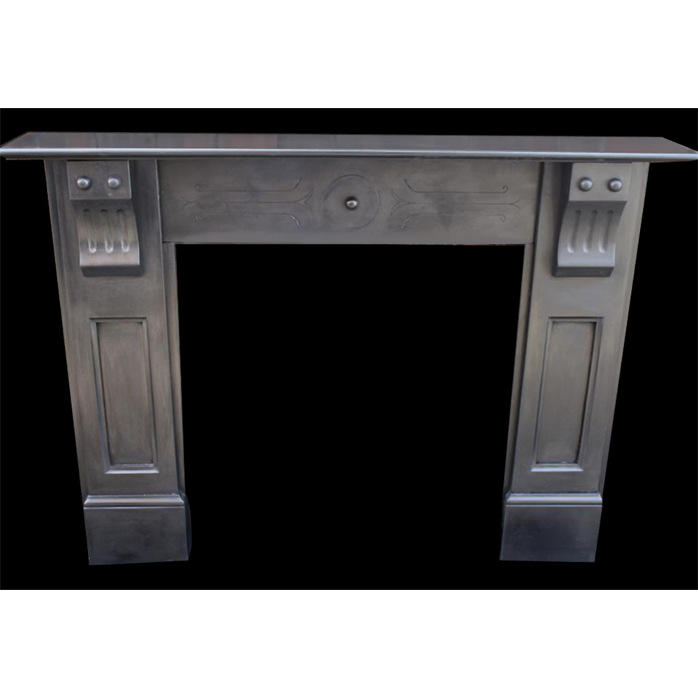 Original Antique Victorian Slate Fire Surround