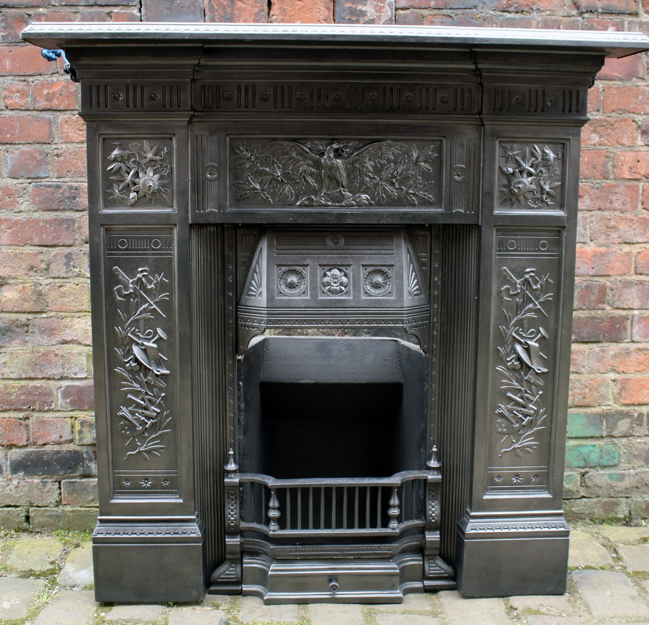 The Arts combination fireplace.