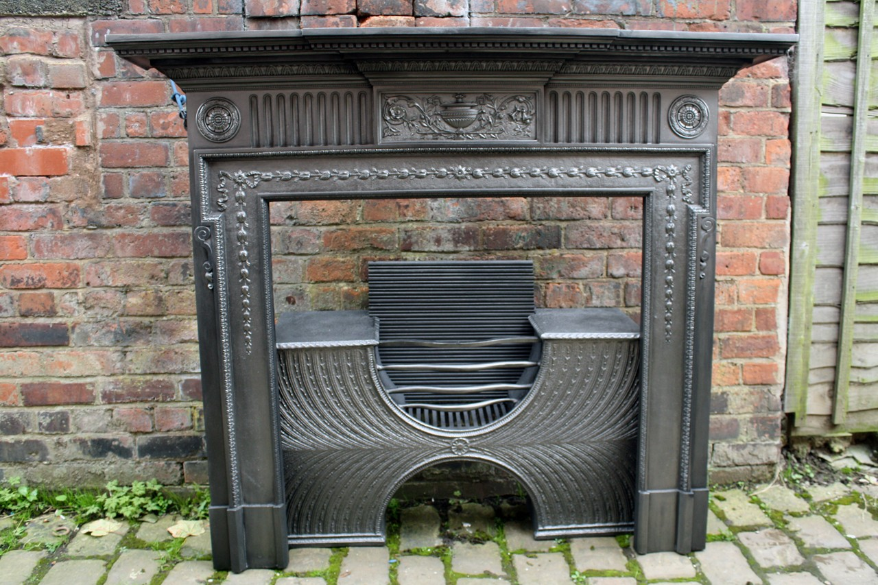 NEO-CLASSICAL VICTORIAN FIRE SURROUND