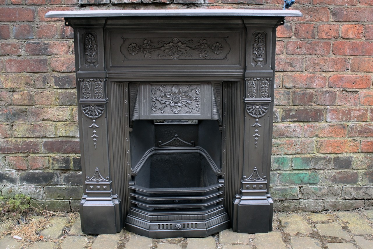 Antique Victorian Fireplace