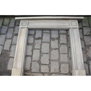 Early Georgian Fire Surround In Stone York Stone