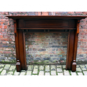 Edwardian Reclaimed Wood Fire Surround