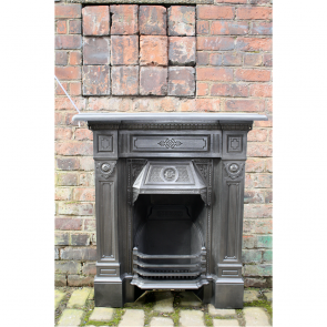 Reclaimed Late Victorian Combination Fireplace The Gordon