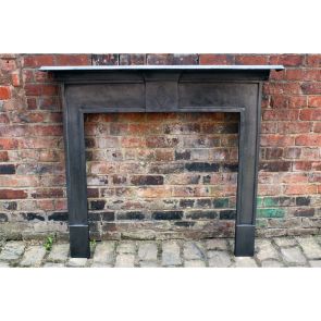 Edwardian Cast Iron Fire Surround