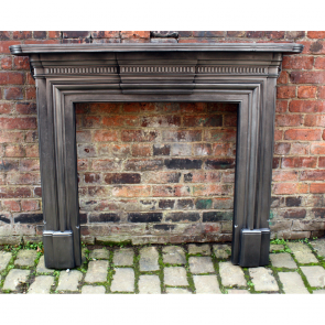 Antique Cast Iron Fire Surround