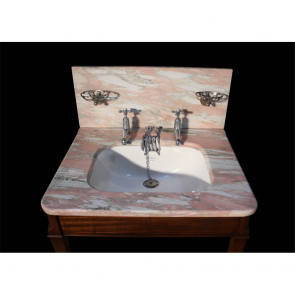 Edwardian Shanks Marble Top Basin Shanks Marble Topped Basin