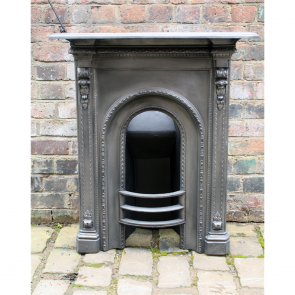 Antique Victorian Combination Fireplace