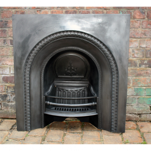 Victorian Arched Grate In Cast Iron Carron Foundry