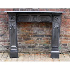 Late Victorian Original Reclaimed Fire Surround
