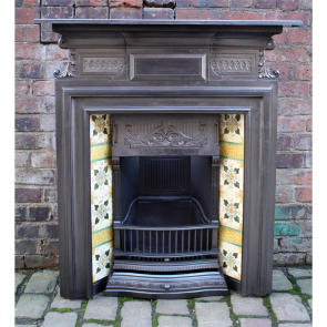 Reclaimed Original Tiled Combination Fireplace