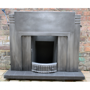 1920'S Art Deco Combination Fireplace 1920S/30S
