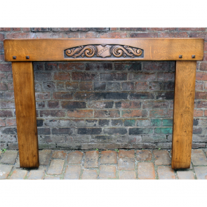 1930'S Reclaimed Oak Fire Surround