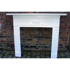 Victorian Cast Iron Chimneypiece
