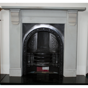 Antique Victorian Stone Fire Surround