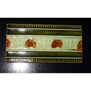 Antique Fireplace Tile
