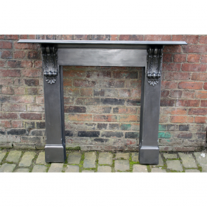 Original Cast Iron Corbel Fire Surround
