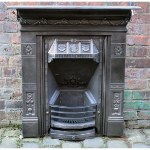 Reclaimed Biclam Combination Fireplace