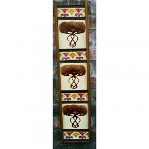 Art Nouveau Set Of Fireplace Tiles