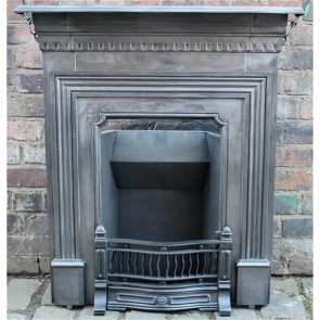 Original Edwardian Combination Fireplace