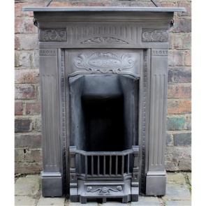 Edwardian Combination Grate In Cast Iron